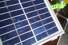 panel modelu solární stanice