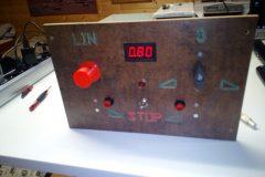 řízení  automatu pro opravu hřídelí